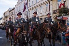 美国独立日波兰 免版税图库摄影