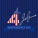 美国独立日美国 图库摄影