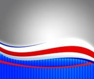 美国独立日背景 库存图片
