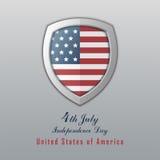 美国独立日7月4日 日愉快的独立 库存照片