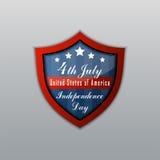 美国独立日7月4日 日愉快的独立 免版税图库摄影