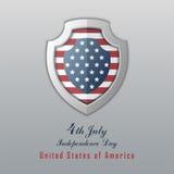 美国独立日7月4日 日愉快的独立 库存图片