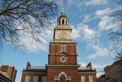 美国独立纪念馆,费城,宾夕法尼亚,美国 免版税库存图片