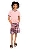 美国男孩拉丁身分 免版税库存照片