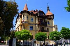 美国的使馆在卢布尔雅那,斯洛文尼亚 免版税图库摄影
