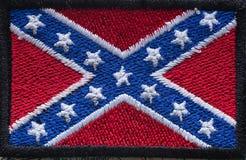 美国的南部的历史旗子 免版税库存图片