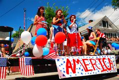美国的唱歌歌曲 免版税库存图片
