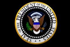 美国的总统的封印 库存照片