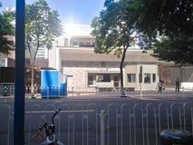 美国的总领事馆在广州 图库摄影