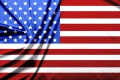 美国的旗子 库存图片