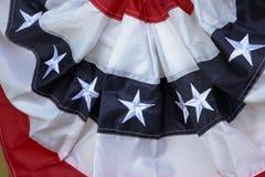 美国的旗布 免版税库存照片
