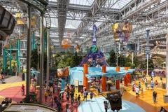 美国的游乐园购物中心在布鲁明屯, 7月06日的MN, 免版税库存照片