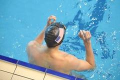 从美国的游泳者 库存图片