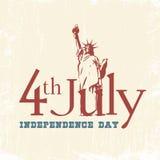 美国的独立日 库存图片