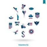 美国的独立日 免版税图库摄影