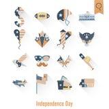 美国的独立日 免版税库存照片