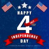 美国的独立日 库存例证