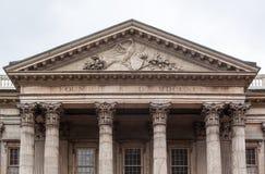 美国的第一家银行 库存照片
