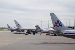 美国的航空公司 免版税图库摄影