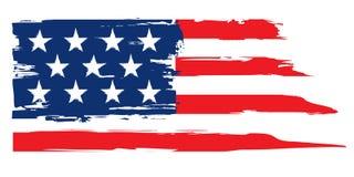 美国的难看的东西旗子 库存照片