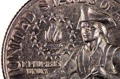 美国硬币 免版税库存照片