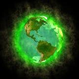美国秀丽地球行星 图库摄影