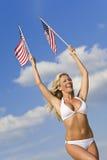 美国秀丽 免版税库存图片