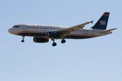 美国空中航线空中巴士A320 库存图片