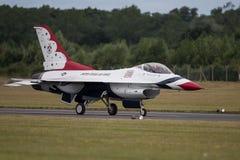 美国空军空气示范分谴舰队 图库摄影
