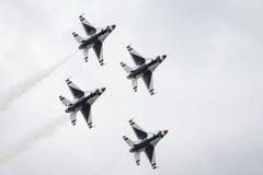 美国空军空气示范分谴舰队 免版税库存照片