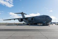 美国空军美国空军队波音C-17A Globemaster III 图库摄影