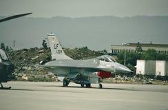 美国空军通用动力公司F-16A战隼79-0324 库存照片