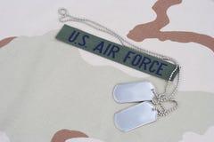 美国空军队分支磁带 库存图片