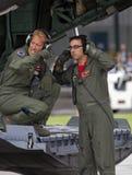 美国空军队田纳西空军国民警卫队乘员组 免版税库存照片