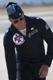 美国空军队雷鸟飞行员 库存图片