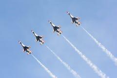美国空军队雷鸟 免版税库存图片
