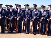 美国空军队仪仗队操练队 免版税库存图片