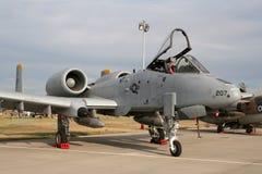 美国空军队A-10雷电II 图库摄影