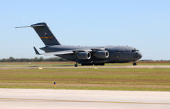 美国空军队C-17 Globemaster运输者 免版税图库摄影
