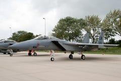 美国空军队F-15老鹰 免版税库存照片