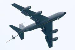 美国空军队KC-135换装燃料飞机 免版税图库摄影