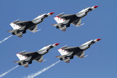 美国空军雷鸟 库存照片