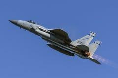 美国空军F-15老鹰 库存图片