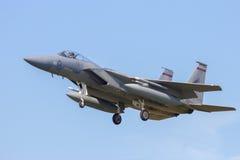 美国空军F-15老鹰 免版税库存照片