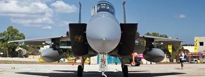 美国空军F-15老鹰 库存照片