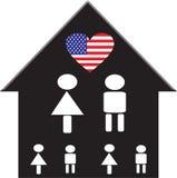 美国系列 免版税库存照片