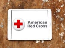 美国红十字会弧商标 免版税库存图片
