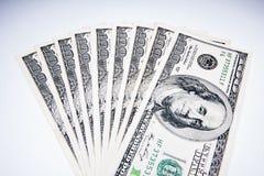 美国美元作为货币 免版税库存图片