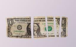 美国美元图表图 库存照片