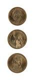 美国美元硬币 免版税库存图片